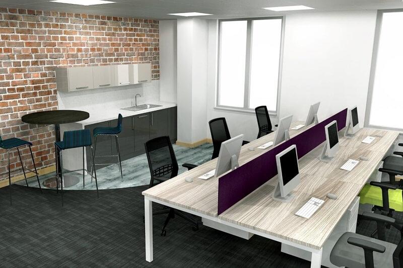 Cách chọn bàn làm việc văn phòng theo nhu cầu