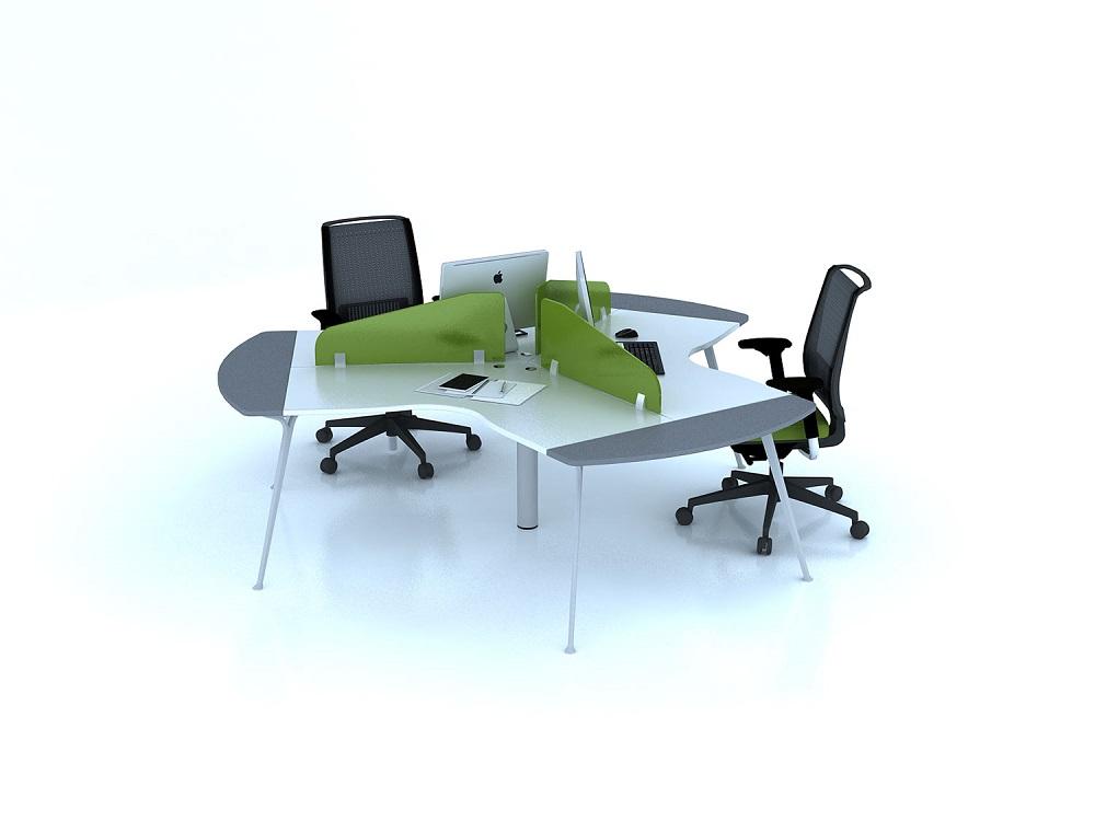 Mẫu bàn văn phòng đẹp theo cụm
