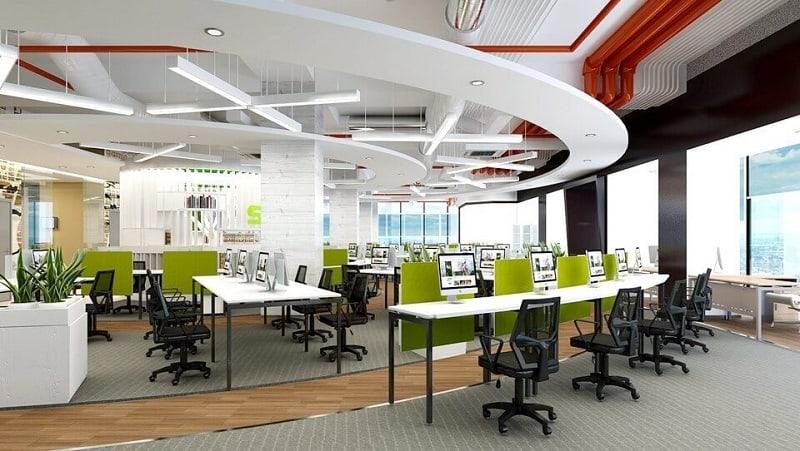 7 bí quyết thiết kế nội thất văn phòng làm việc