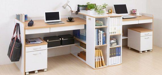 3 tác dụng của bàn làm việc có ngăn kéo tại văn phòng